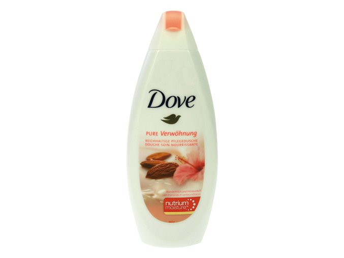 Dove Sprchový gel 250ml Mandle a Ibišek