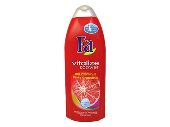 Fa Pěna do koupele 500ml Vitalize&Power