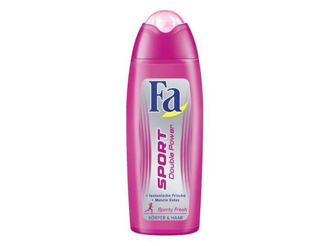Fa Sprchový gel 250ml Double Power Sporty Fresh 2v1