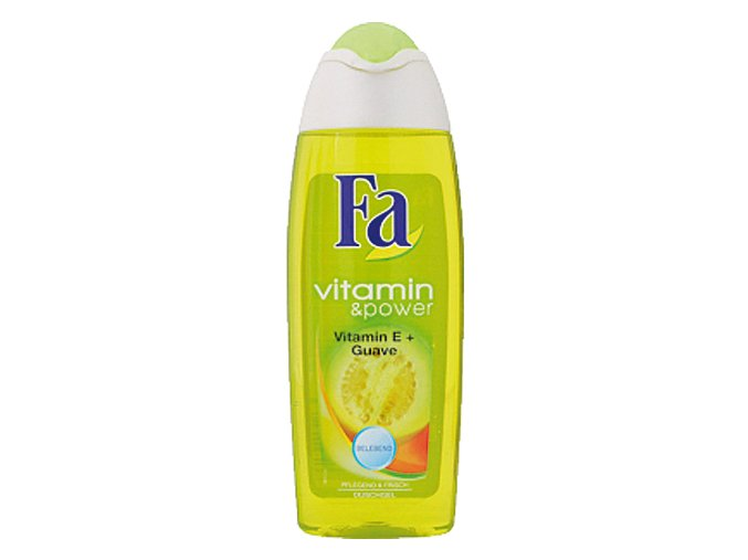 Fa Sprchový gel 250ml Vitalize&Power Vitamin E + Guave