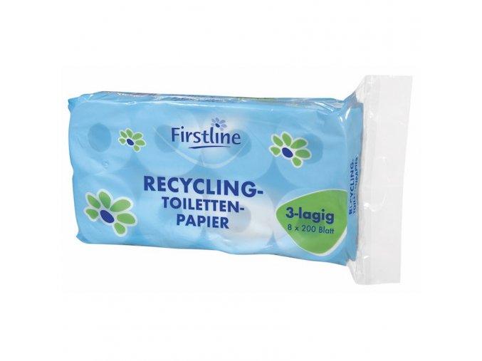 firstline toilettenpapier recycling 3lagig 200 blatt 2