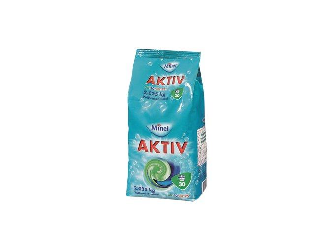 Minel Aktiv Prášek na praní 30 Pracích cyklů