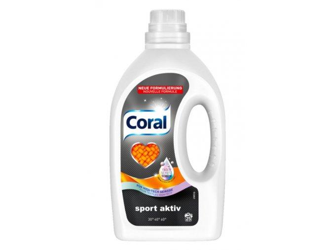 Coral Gel na praní Sport Aktiv 22 Pracích cyklů - NOVÉ SLOŽENÍ