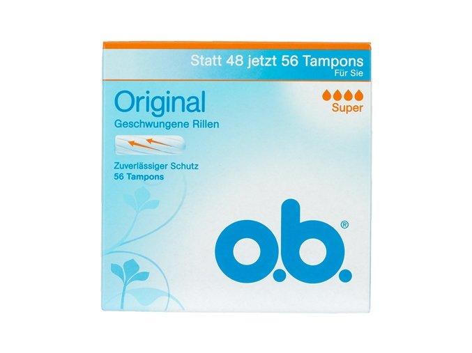 O.B. Original Super 56ks tamponů