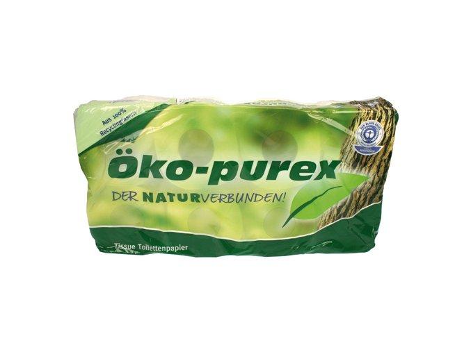 Toaletní papír 2-vrstvý 8x250 útržků