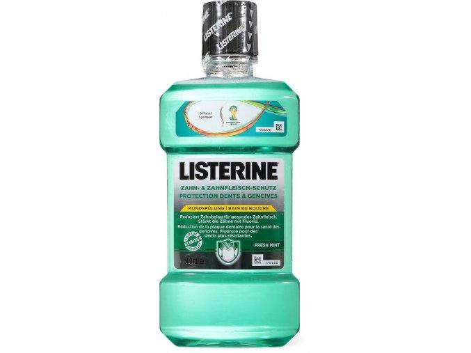 Listerine Ústní voda s ochranou proti zubnímu plaku 500ml
