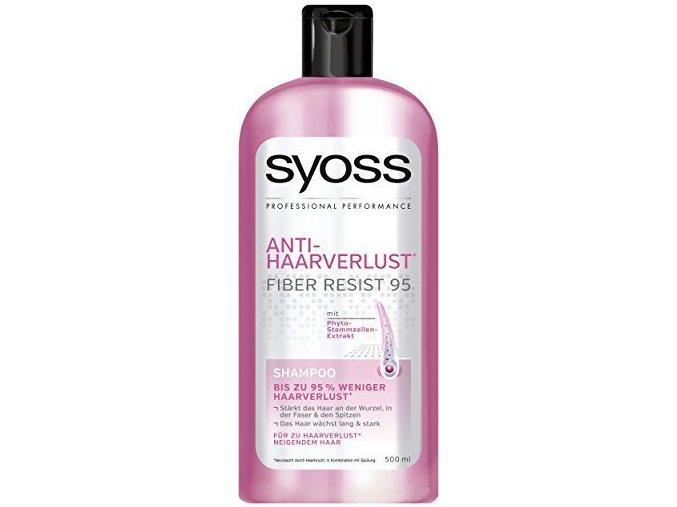 Syoss Šampon 500ml Proti vypadávání vlasů