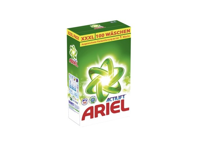 Ariel Actilift XXXL prášek na praní 100 Pracích cyklů