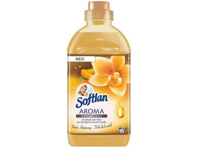 Softlan Aroma Sensations aviváž s éterickými oleji z mandarinky a vanilky 750ml