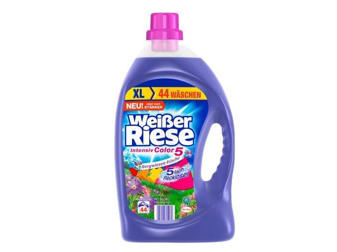 Weisser Riese Intensiv Color Bergwiesen-Frische Gel na praní 44 Pracích cyklů