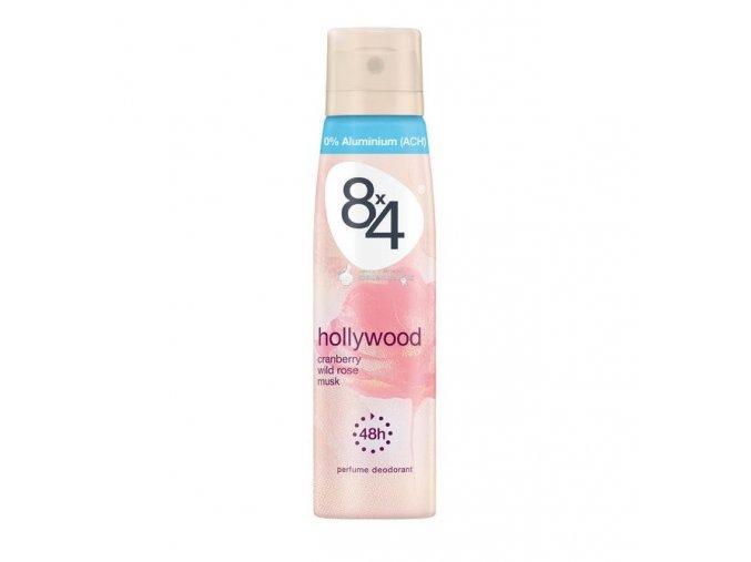8x4 Deodorant 150ml Hollywood
