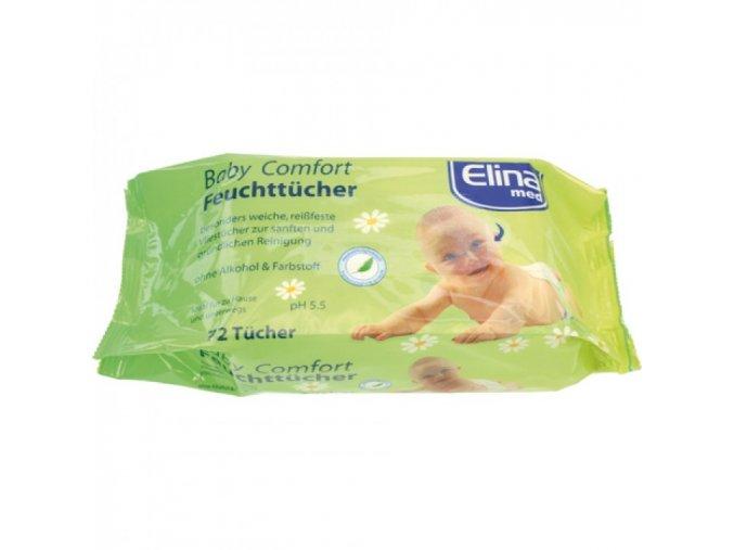 Elina Baby Comfort Vlhčené ubrousky 72ks