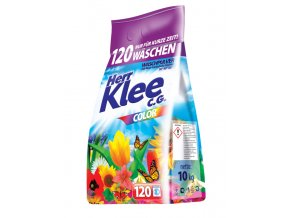 Klee Color Prášek na praní barevného prádla 120 Pracích cyklů