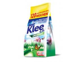 Klee Universal Prášek na praní bílého a barevného prádla 120 Pracích cyklů