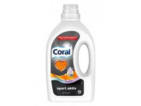 Coral Gel na praní Sport Aktiv 25 Pracích cyklů - NOVÉ SLOŽENÍ