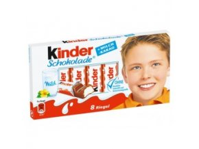 kinder schokolade 24 jednotlive balenych tycinek kinder cokolady 300g