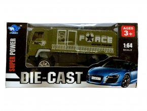 Nákladní auto 1:64 zelené
