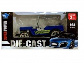 Auto 1:64 Modré