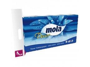 Mola Toaletní papír třívrstvý 8ks á 150 útržků