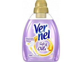 Vernel Soft & Oils Aviváž Fialová 750ml