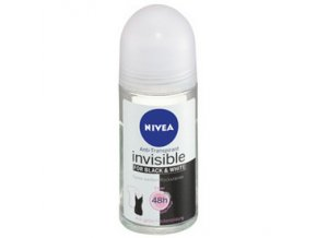 Nivea Invisible for Black & White Clean Roll-On 50ml