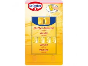 dr oetker butter vanilla flavoring 4 x 2ml