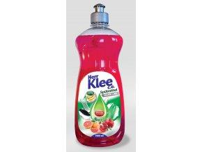 Klee Prostředek pro ruční mytí nádobí s vůní Červeného Grepu a Granátového Jablka 1l