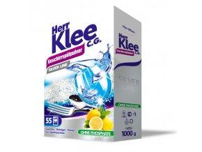 Klee Silver Line Prášek do myčky s vůní citronu 1kg
