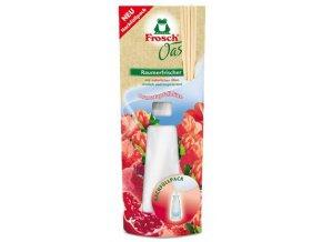 Frosch Osvěžovač vzduchu 90ml Květy granátového jablka Náhradní náplň - BIO