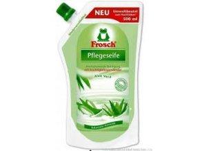 Frosch tekuté mýdlo Aloe Vera náhradní náplň 500ml - BIO