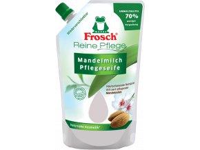 Frosch tekuté mýdlo Mandlové mléko náhradní náplň 500ml - BIO