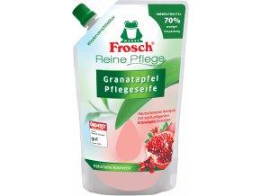 Frosch tekuté mýdlo Granátové jablko náhradní náplň 500ml - BIO
