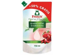 Frosch tekuté mýdlo Granátové jablko náhradní náplň 750ml - BIO