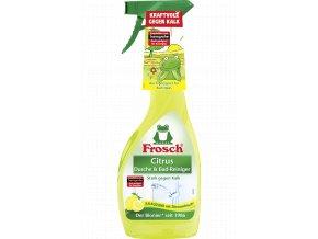 Frosch Hygienický čistič koupelny Citrus 750ml - BIO