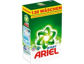 Ariel Actilift XXXXL prášek na praní 130 Pracích cyklů
