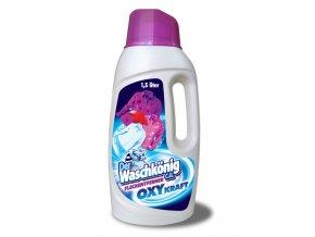 Waschkönig OXY Kraft Color Gel - Odstraňovač skvrn pro barevné prádlo 1,5l