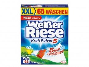 Weisser Riese Prášek na praní 65 Pracích cyklů