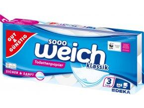 G&G Toaletní papír třívrstvý 10ks á 200 útržků