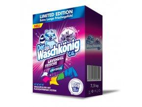 Waschkönig Universal Levandule prášek na praní XXL 100 Pracích cyklů - Limitovaná edice