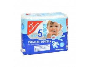 Premium dětské pleny JUNIOR (11-25kg) 36ks