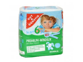 Premium dětské pleny XL (16-30kg) 32ks