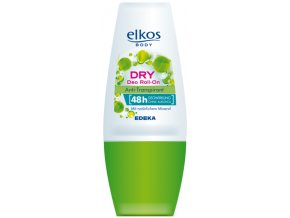 Elkos Dry Anti-Transpirant Deo Roll-On 50ml