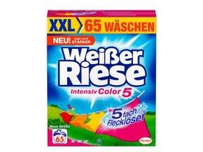 Weisser Riese Color Prášek na praní 65 Pracích cyklů