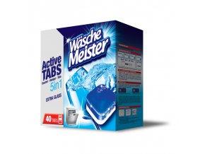 Wasche Meister Active Tabs 5v1 tablety do myčky 40ks