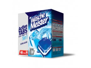 Wasche Meister Active Tabs 5v1 tablety do myčky 40ks