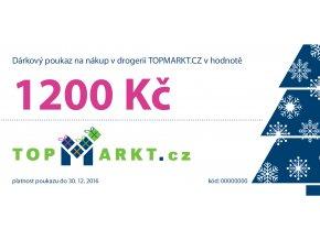Dárkový poukaz v hodnotě 1200,- Kč doprava v ceně