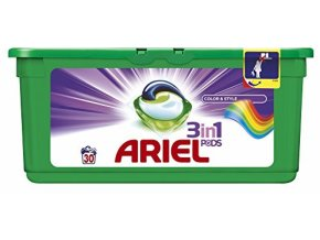 Ariel 3 in 1 Pods Colour Washing Capsules 30 Washes Ariel 0 res