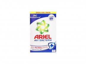 Ariel Professional Antibacterial XXXL prášek na praní 120 Pracích cyklů