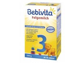 bebivita 3 pokracovaci kojenecke mleko od ukonceneho 9 mesice 2 x 250 g 2402