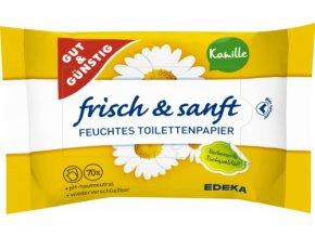 G&G Vlhčený toaletní papír Heřmánek dvoubalení 2x70ks, 140ks